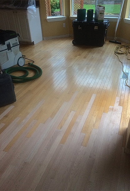Evergreen hardwood floors refinishing installation for Hardwood floors questions